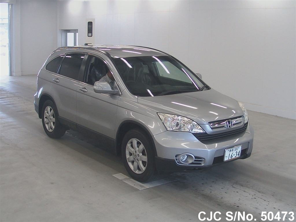 2006 honda crv silver for sale stock no 50473 japanese used cars exporter. Black Bedroom Furniture Sets. Home Design Ideas