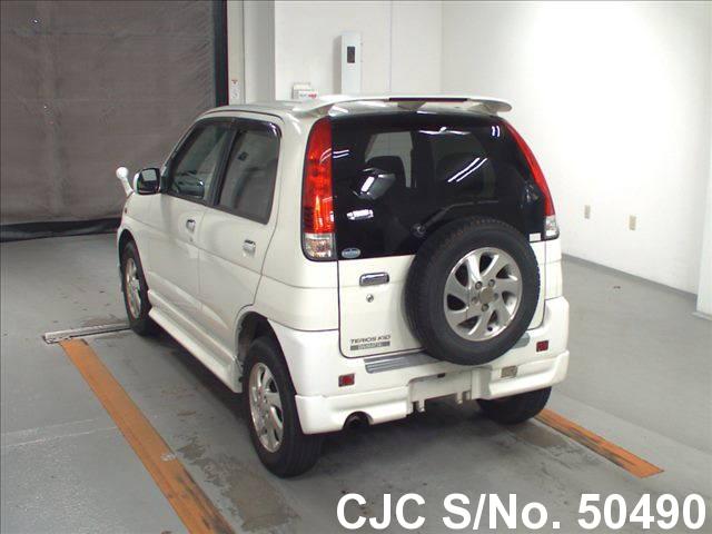 2003 Daihatsu Terios Kid White For Sale Stock No 50490