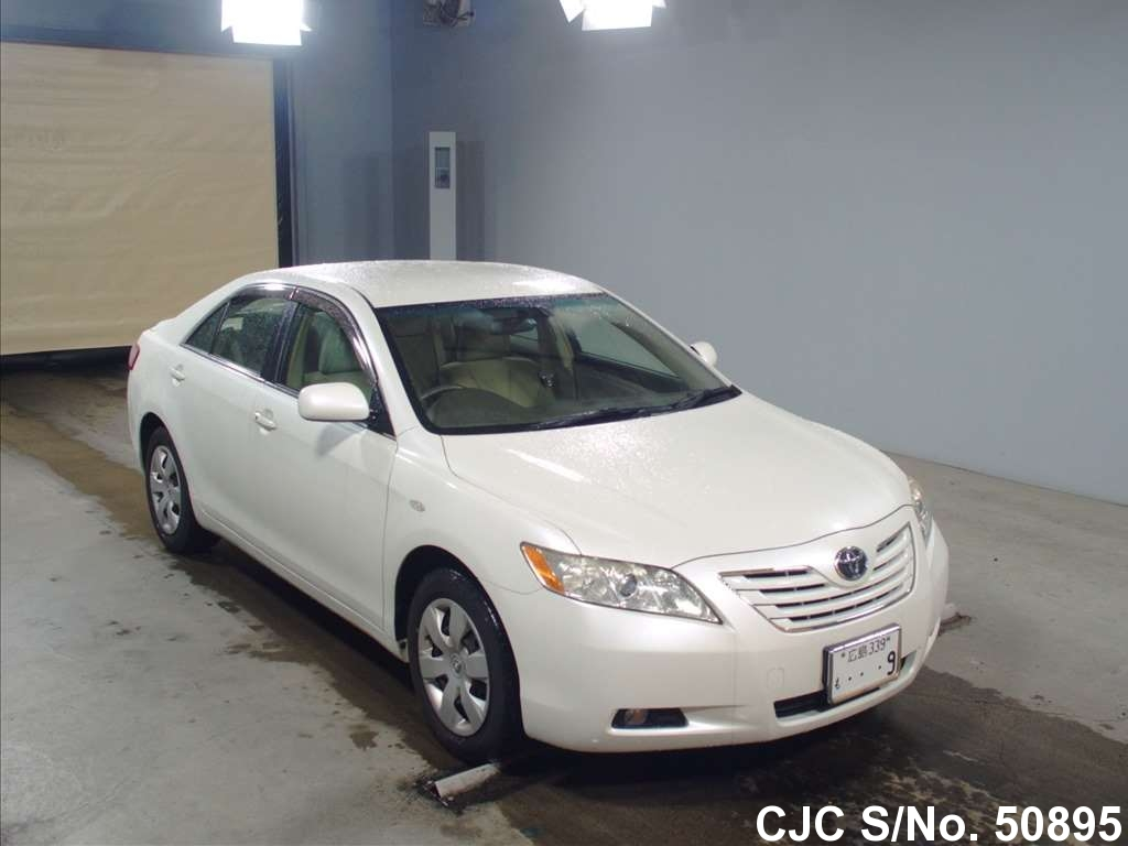 2008 toyota camry white for sale stock no 50895. Black Bedroom Furniture Sets. Home Design Ideas