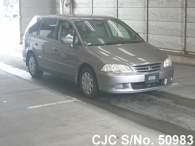2001 honda odyssey shuttle gray for sale stock no 50983 japanese used cars exporter. Black Bedroom Furniture Sets. Home Design Ideas