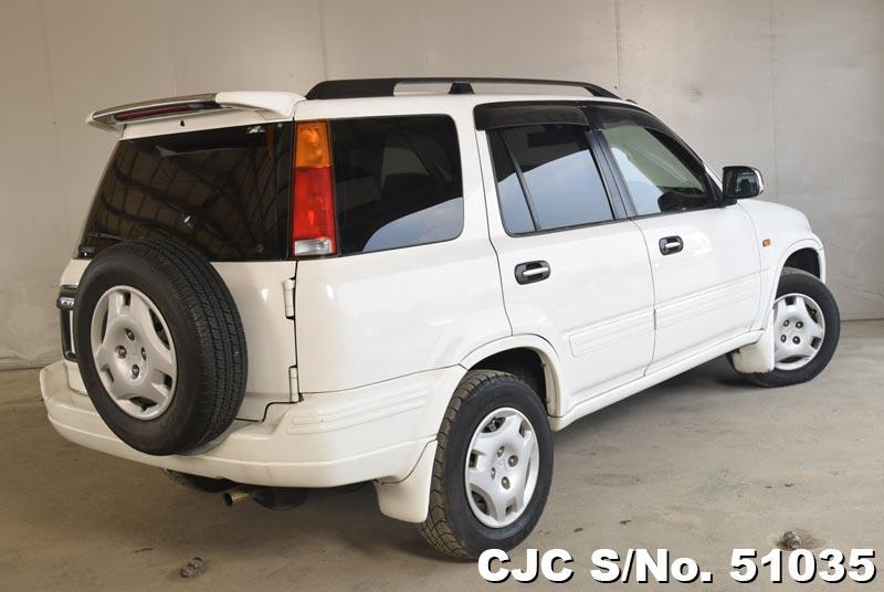 1997 honda crv white for sale stock no 51035 japanese used cars exporter. Black Bedroom Furniture Sets. Home Design Ideas