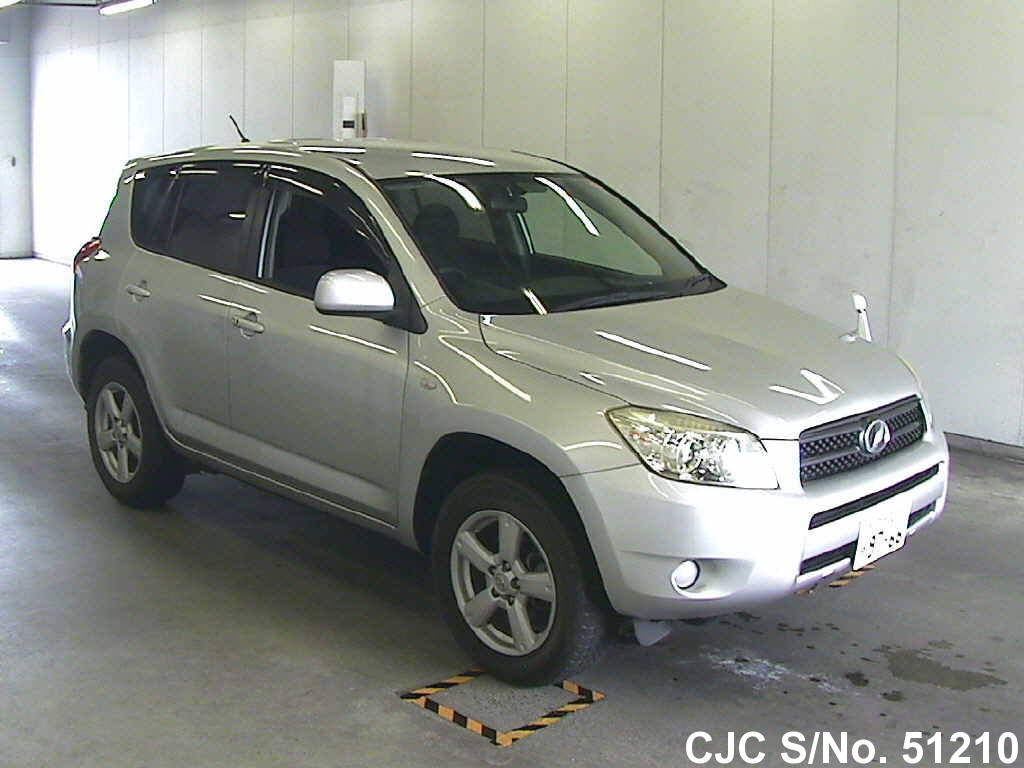 2006 toyota rav4 silver for sale stock no 51210 japanese used cars exporter. Black Bedroom Furniture Sets. Home Design Ideas