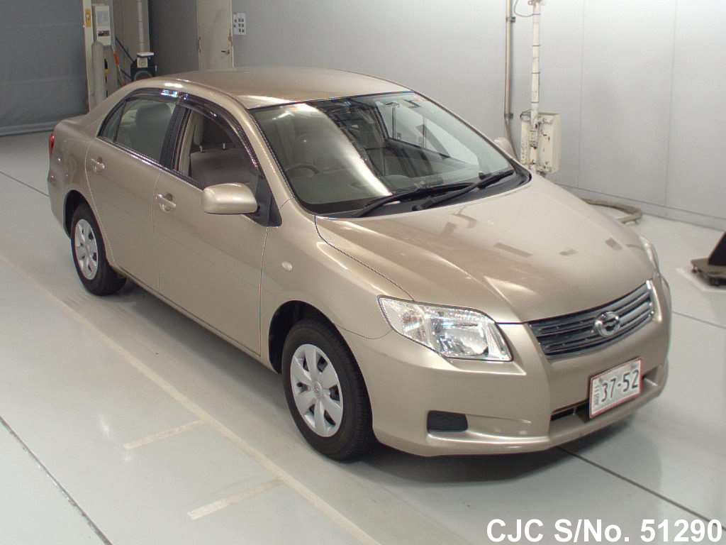 2007 toyota corolla axio beige for sale stock no 51290 japanese used cars exporter. Black Bedroom Furniture Sets. Home Design Ideas