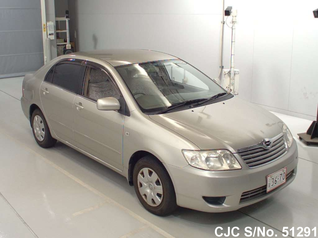 2006 toyota corolla beige for sale stock no 51291 japanese used cars exporter. Black Bedroom Furniture Sets. Home Design Ideas