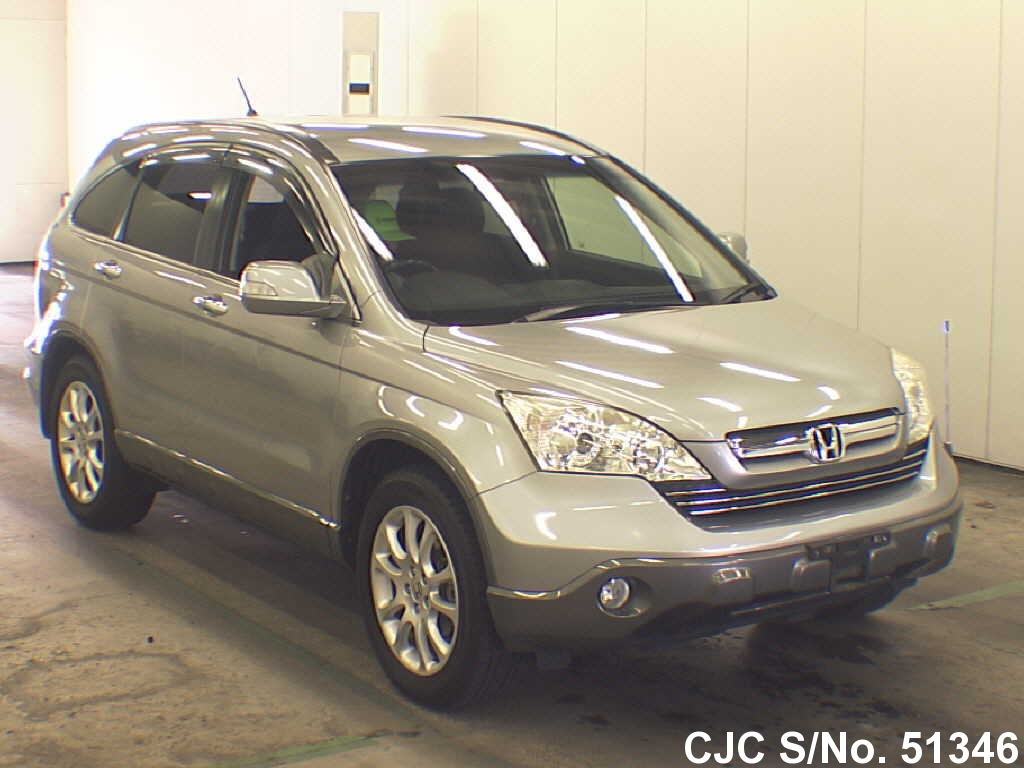 2006 honda crv silver for sale stock no 51346 japanese used cars exporter. Black Bedroom Furniture Sets. Home Design Ideas