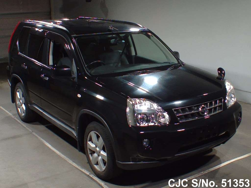2010 nissan x trail black for sale stock no 51353. Black Bedroom Furniture Sets. Home Design Ideas