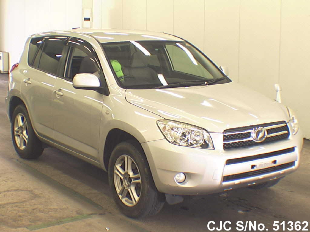 2007 toyota rav4 silver for sale stock no 51362 japanese used cars exporter. Black Bedroom Furniture Sets. Home Design Ideas