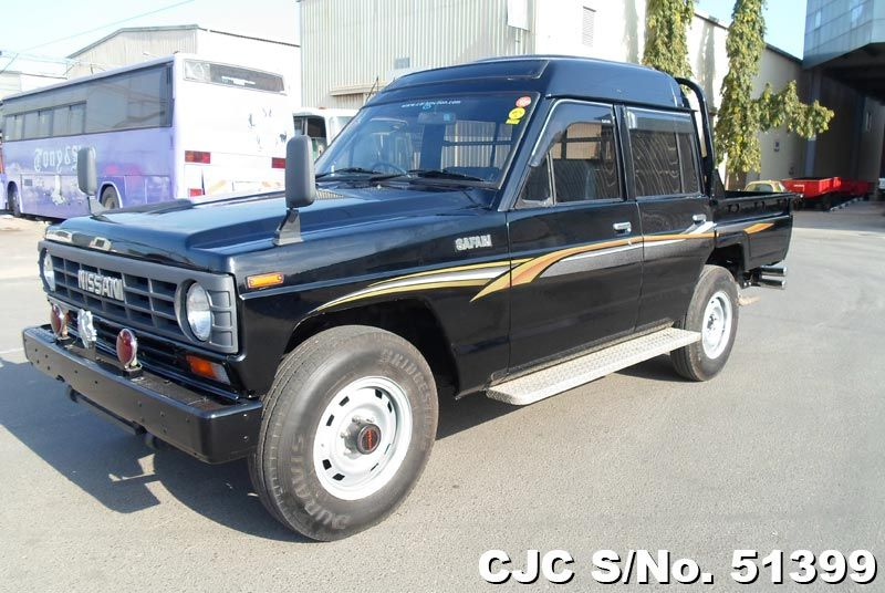 1987 nissan safari truck for sale stock no 51399 japanese used cars exporter. Black Bedroom Furniture Sets. Home Design Ideas