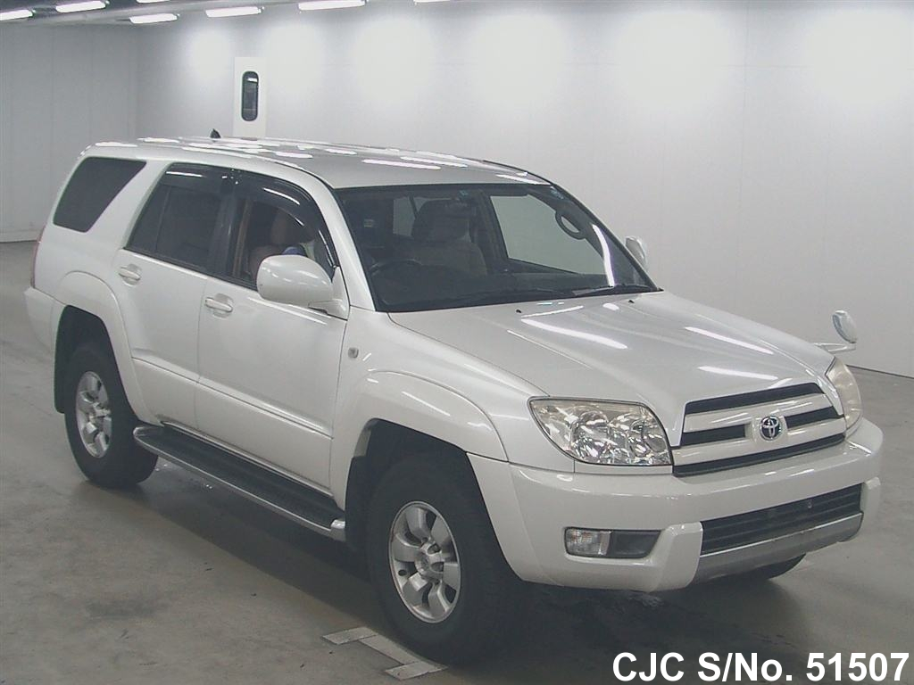 2003 toyota hilux surf 4runner pearl for sale stock no. Black Bedroom Furniture Sets. Home Design Ideas