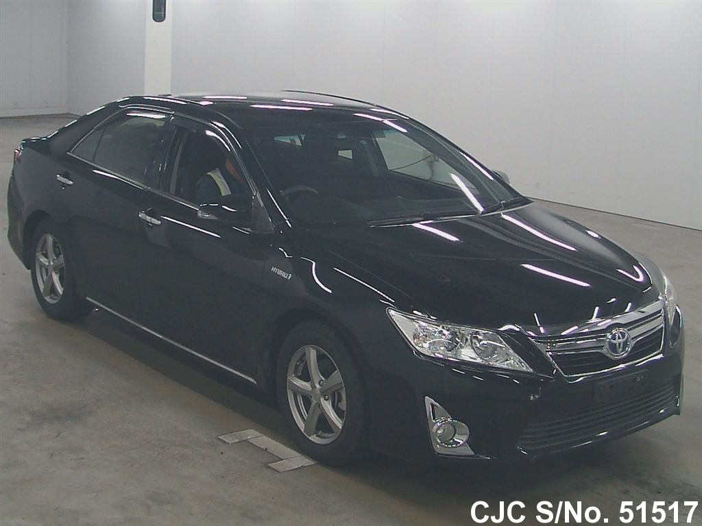 2011 toyota camry black for sale stock no 51517 japanese used cars exporter. Black Bedroom Furniture Sets. Home Design Ideas