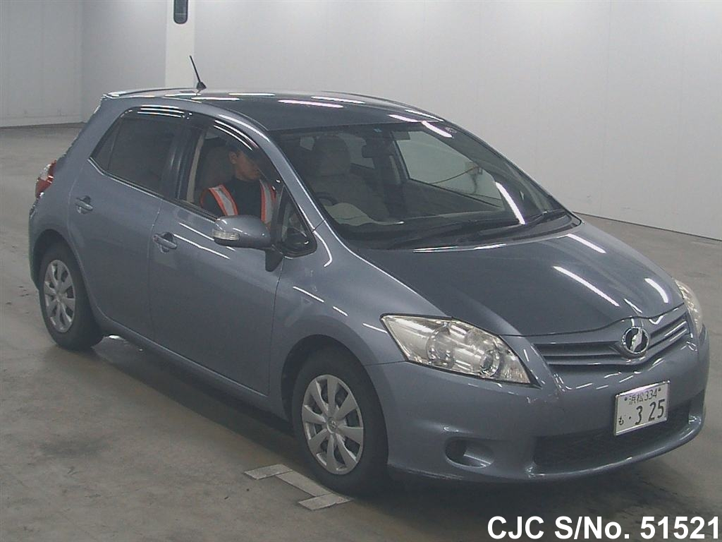 2010 toyota auris gray for sale stock no 51521. Black Bedroom Furniture Sets. Home Design Ideas