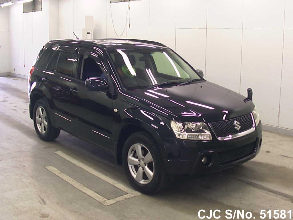 2006 suzuki escudo grand vitara black for sale stock no 51581 japanese used cars exporter. Black Bedroom Furniture Sets. Home Design Ideas