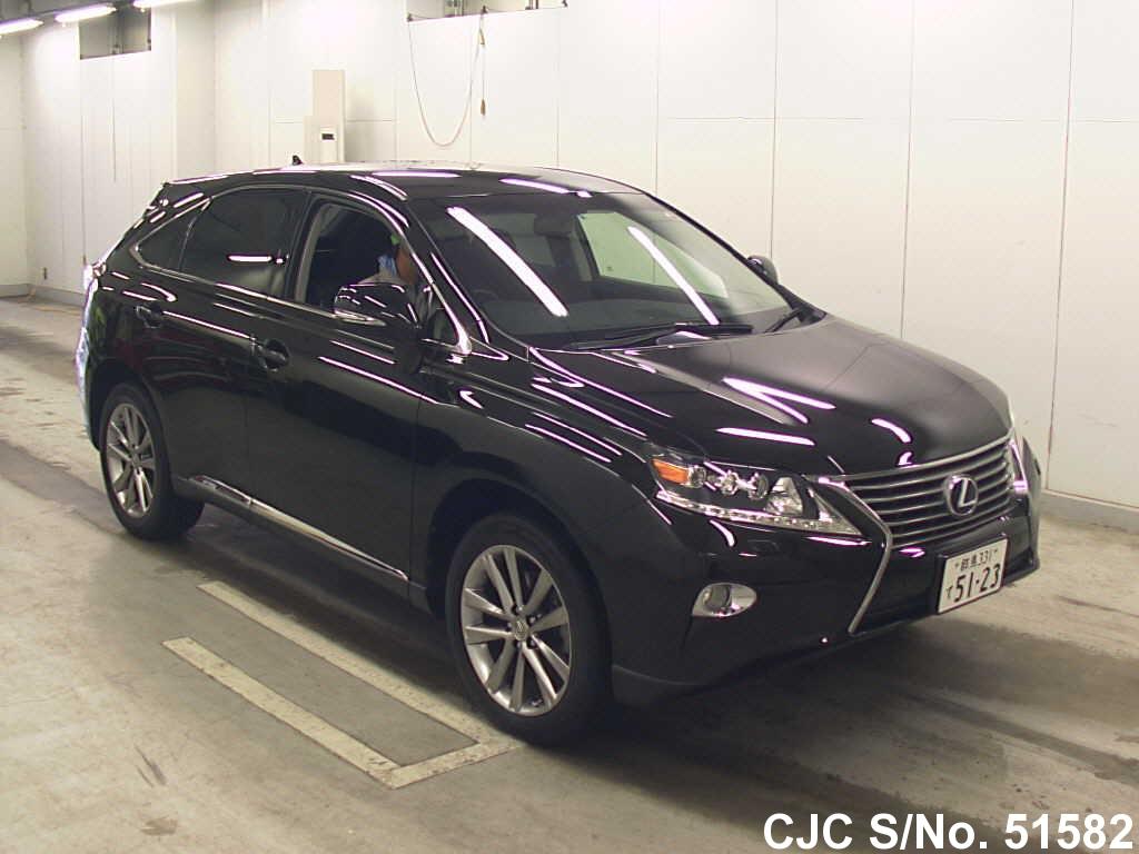 2012 lexus rx 450h black for sale stock no 51582 japanese used cars exporter. Black Bedroom Furniture Sets. Home Design Ideas