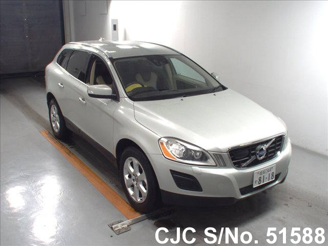 2011 volvo volvo xc60 white for sale stock no 51588 japanese used cars exporter. Black Bedroom Furniture Sets. Home Design Ideas