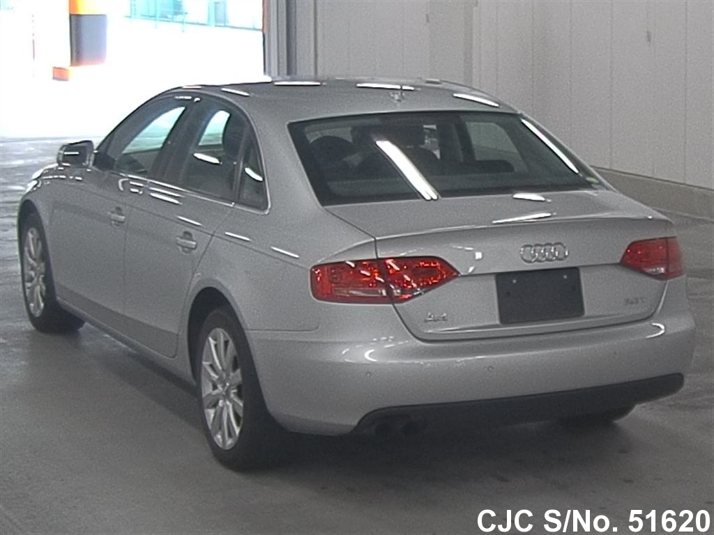 2011 audi a4 silver for sale stock no 51620 japanese used cars exporter. Black Bedroom Furniture Sets. Home Design Ideas
