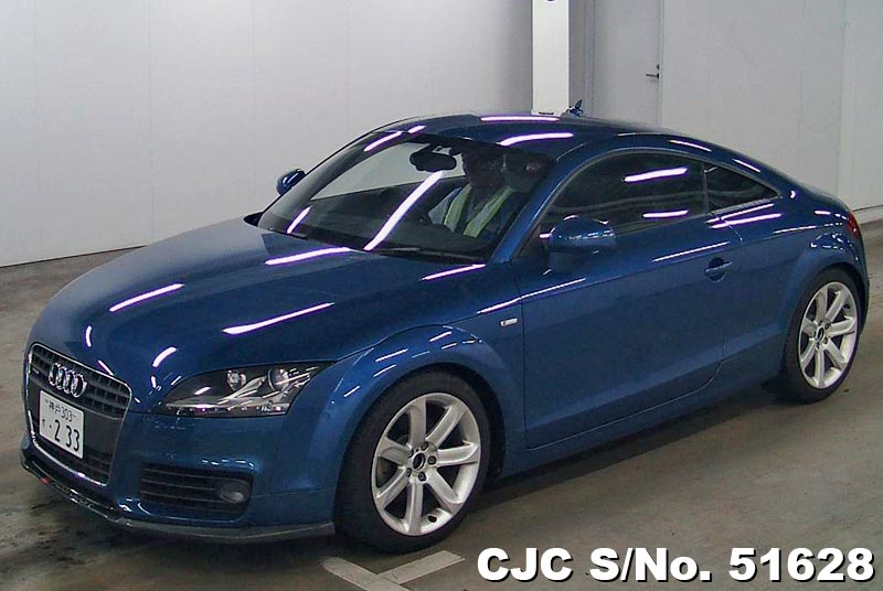 2008 audi tt coupe blue for sale stock no 51628 japanese used cars exporter. Black Bedroom Furniture Sets. Home Design Ideas