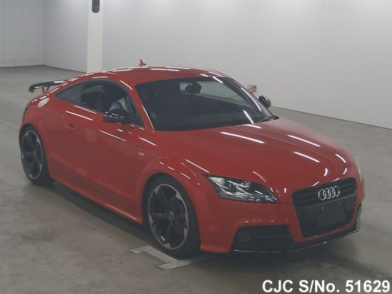 2014 audi tt coupe red for sale stock no 51629 japanese used cars exporter. Black Bedroom Furniture Sets. Home Design Ideas