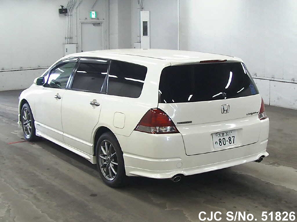2005 honda odyssey pearl for sale stock no 51826 japanese used cars exporter. Black Bedroom Furniture Sets. Home Design Ideas