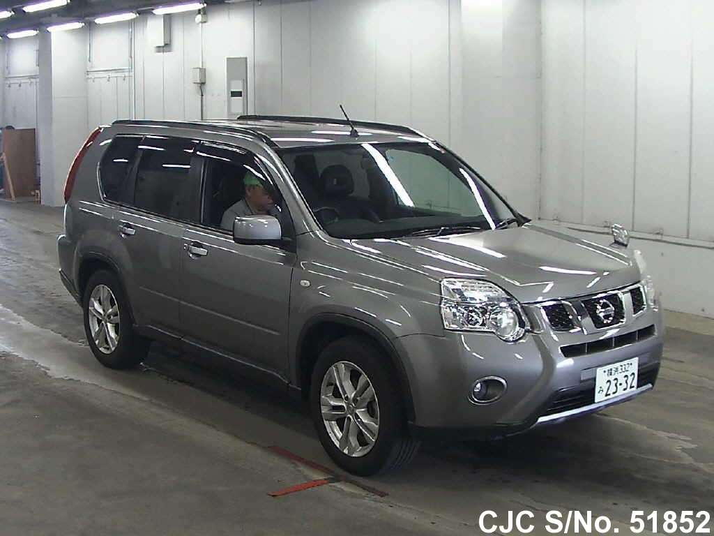 2010 nissan x trail gray for sale stock no 51852. Black Bedroom Furniture Sets. Home Design Ideas