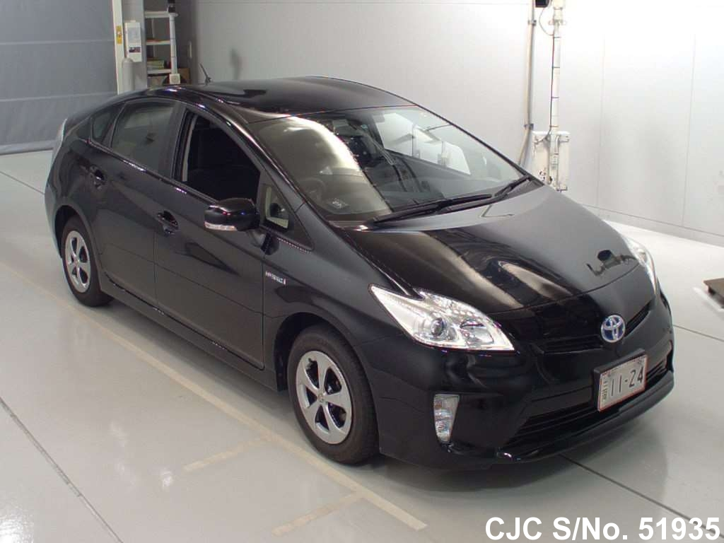 2013 toyota prius hybrid black for sale stock no 51935 japanese used cars exporter. Black Bedroom Furniture Sets. Home Design Ideas