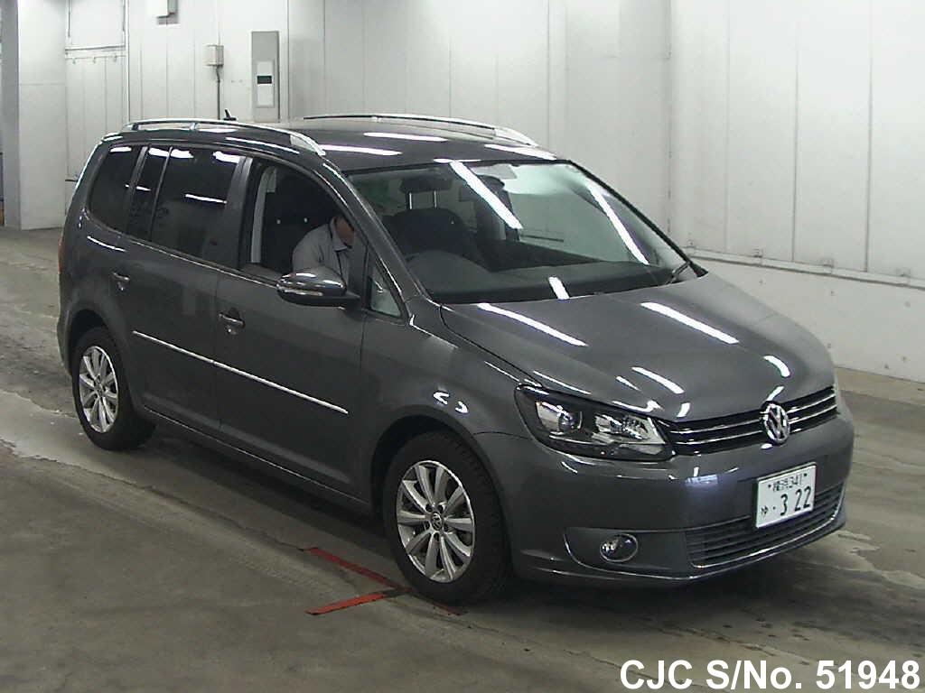 2012 volkswagen golf touran gray for sale stock no 51948 japanese used cars exporter. Black Bedroom Furniture Sets. Home Design Ideas