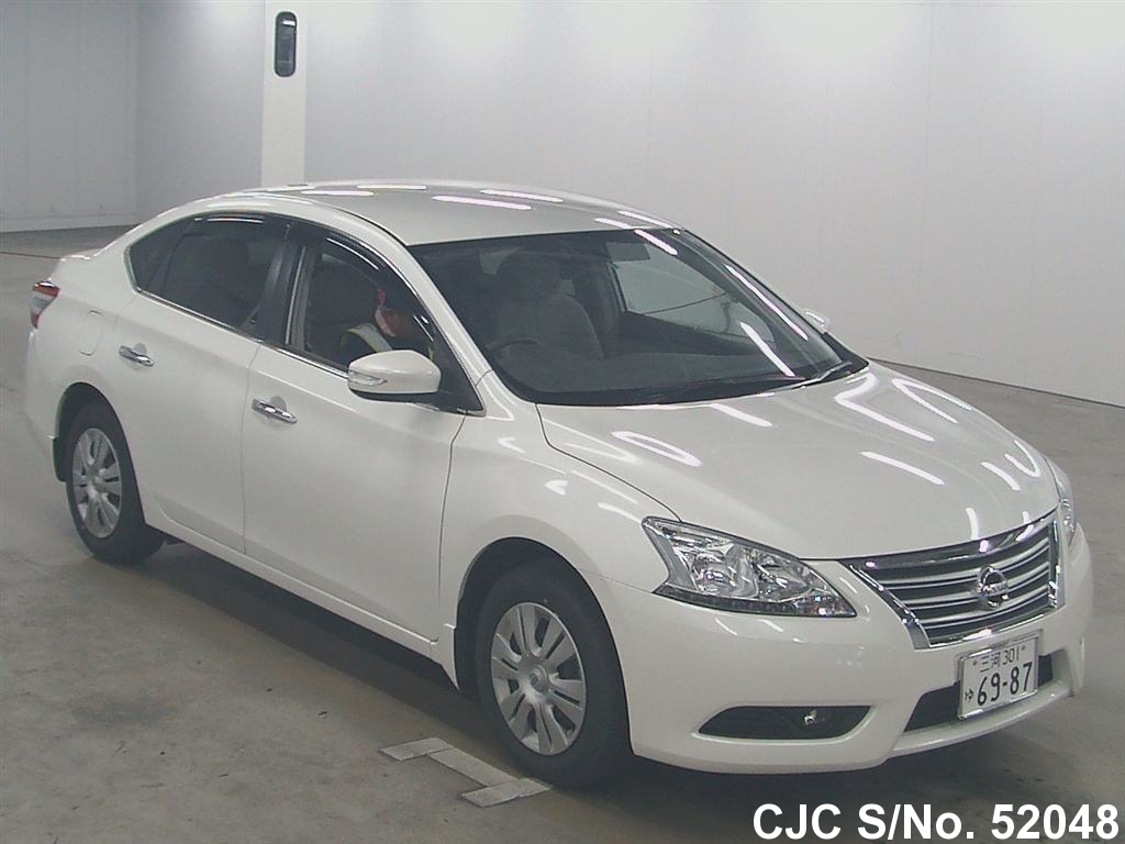 2015 Nissan Bluebird Sylphy Pearl For Sale Stock No