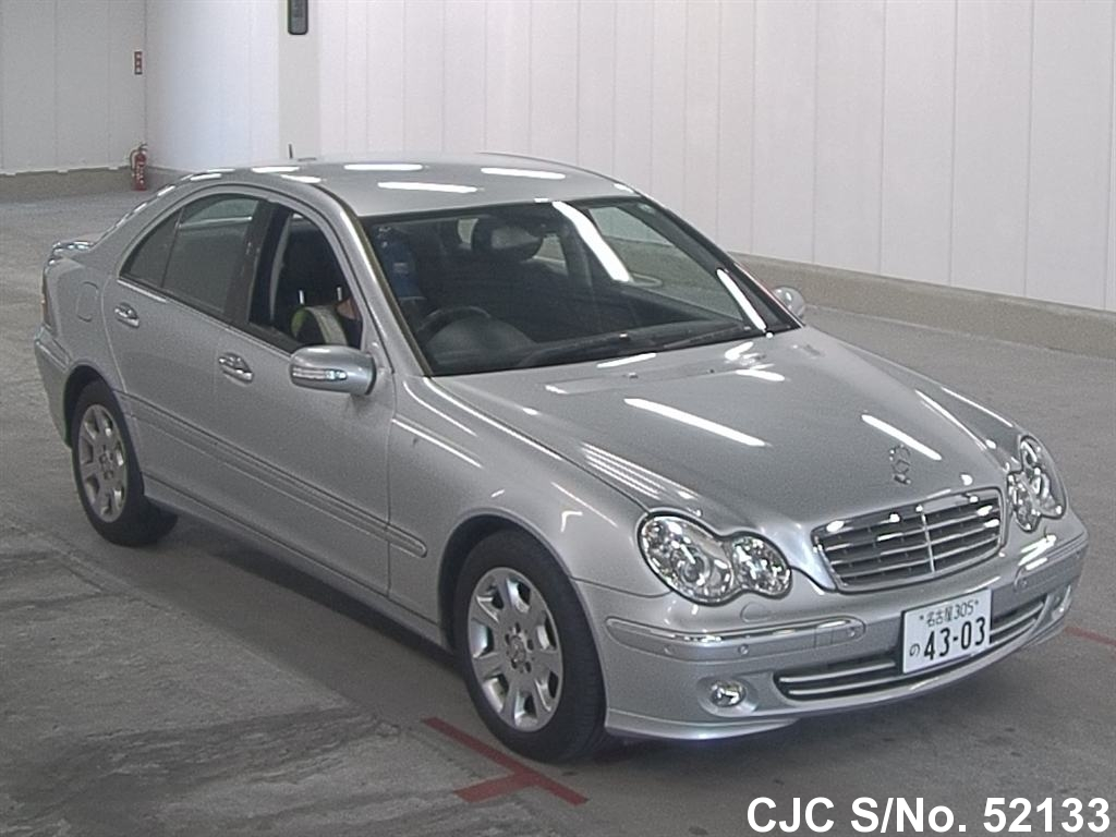 2007 Mercedes Benz C Class Silver For Sale Stock No
