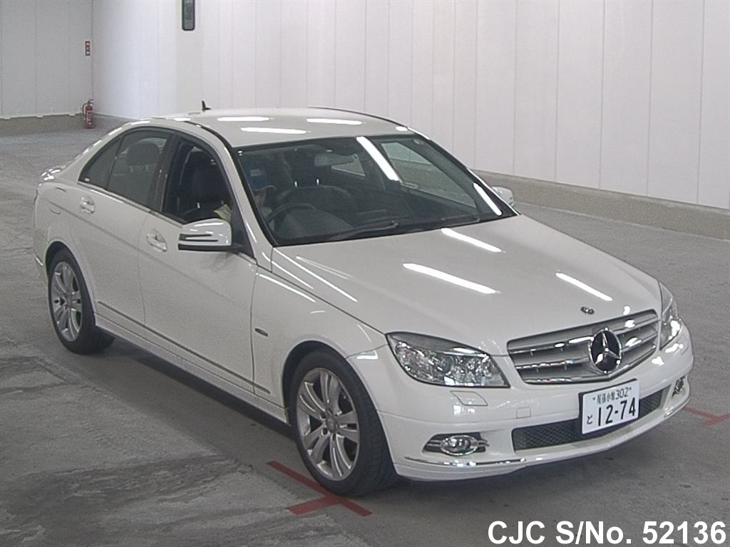2010 mercedes benz c class white for sale stock no for Mercedes benz c class white