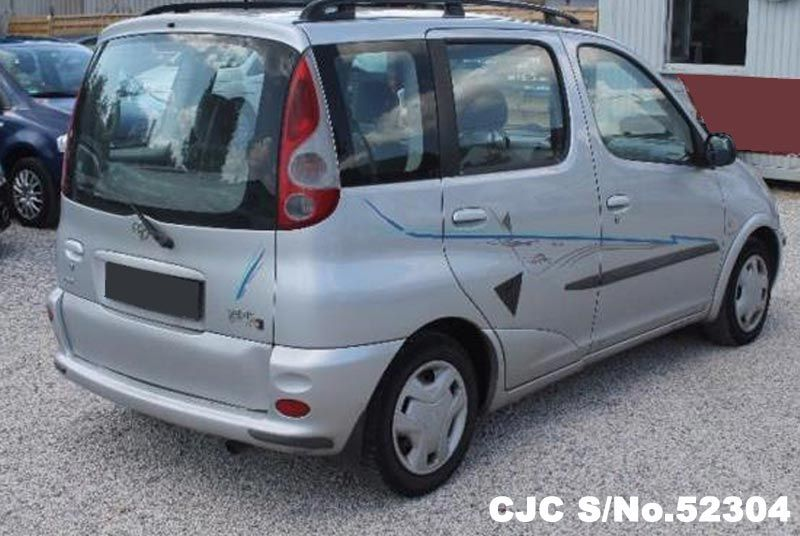 2001 left hand toyota yaris silver metallic for sale. Black Bedroom Furniture Sets. Home Design Ideas