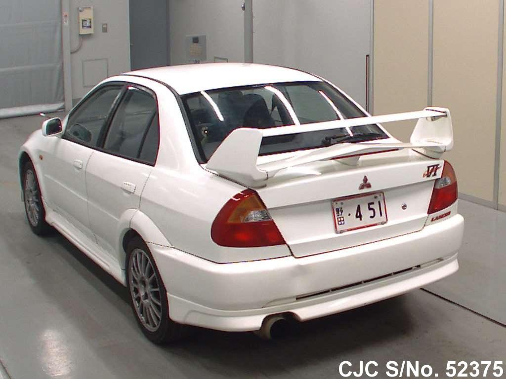 1999 Mitsubishi Lancer White For Sale Stock No 52375