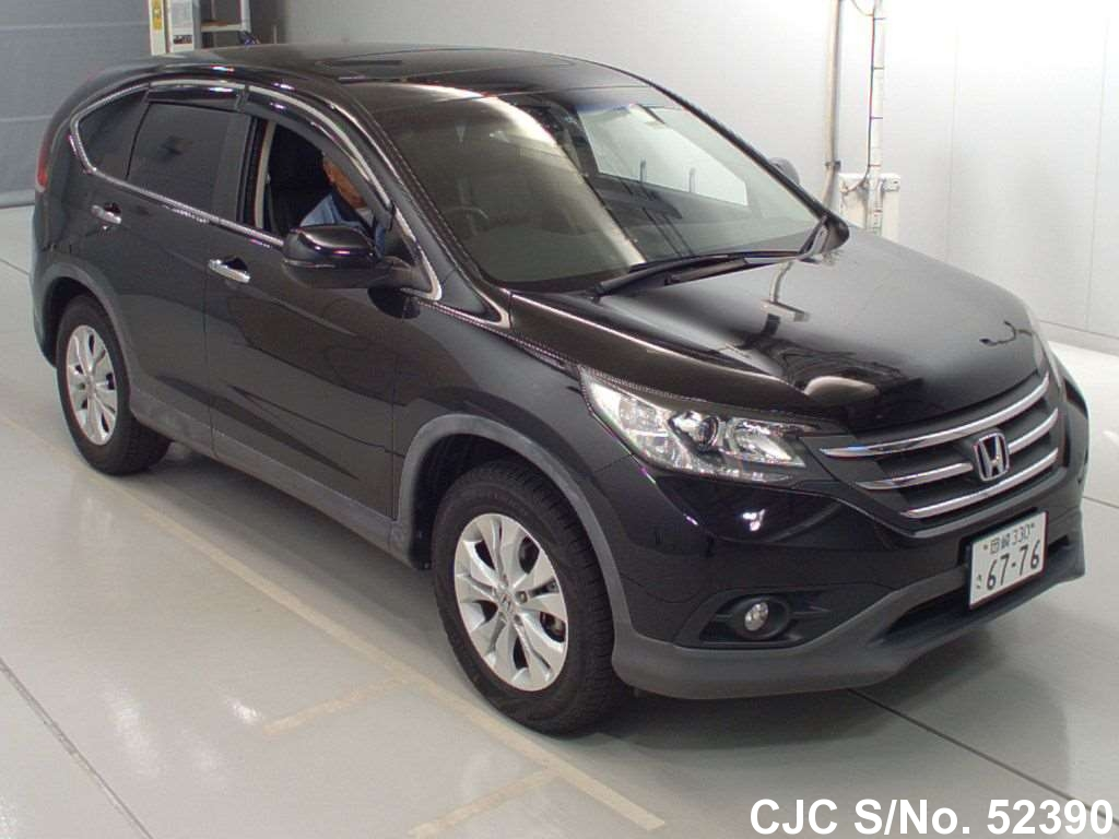 2011 honda crv black for sale stock no 52390 japanese used cars exporter. Black Bedroom Furniture Sets. Home Design Ideas