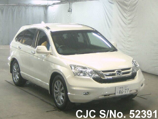 2011 honda crv white for sale stock no 52391 japanese used cars exporter. Black Bedroom Furniture Sets. Home Design Ideas