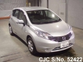 2014 Nissan / Note Stock No. 52422