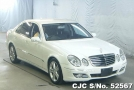 2007 Mercedes Benz / E Class Stock No. 52567