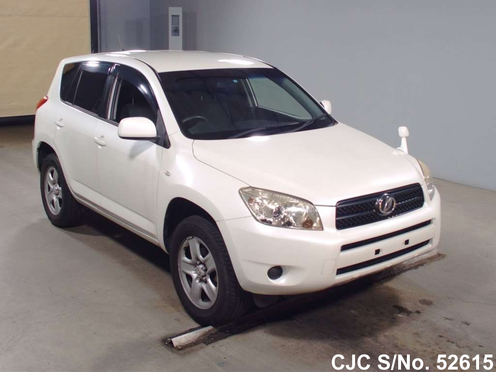 2006 toyota rav4 white for sale stock no 52615. Black Bedroom Furniture Sets. Home Design Ideas