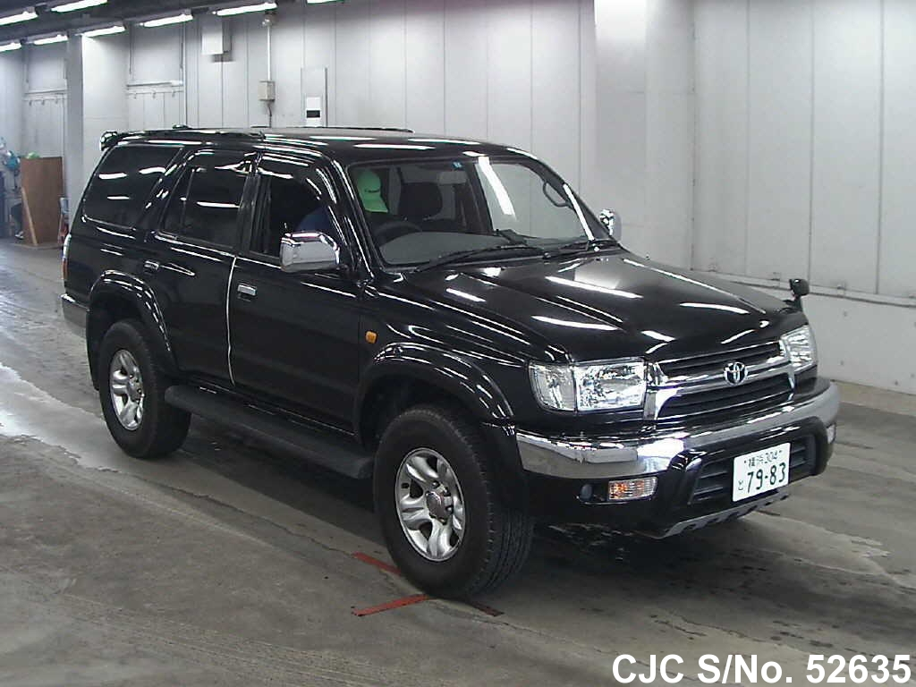 2002 toyota hilux surf 4runner black for sale stock no 52635 japanese used cars exporter. Black Bedroom Furniture Sets. Home Design Ideas