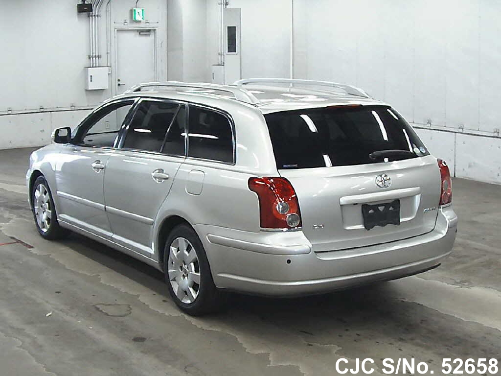 2007 toyota avensis silver for sale stock no 52658 japanese used cars exporter. Black Bedroom Furniture Sets. Home Design Ideas