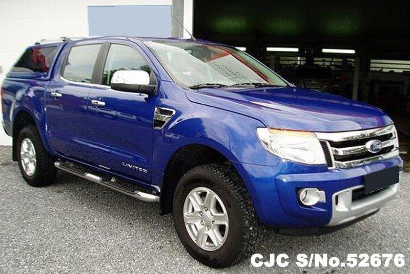 2012 ford ranger blue - photo #1