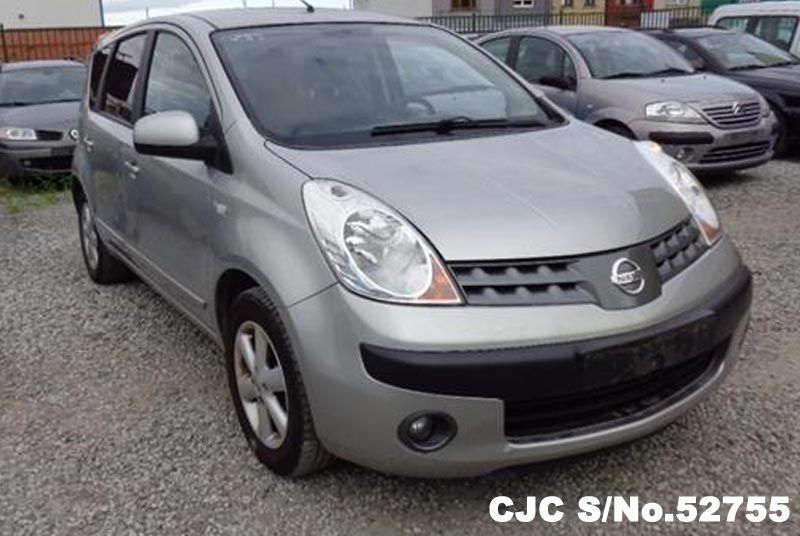 2006 left hand nissan note gray metallic for sale stock no 52755 left hand used cars exporter. Black Bedroom Furniture Sets. Home Design Ideas