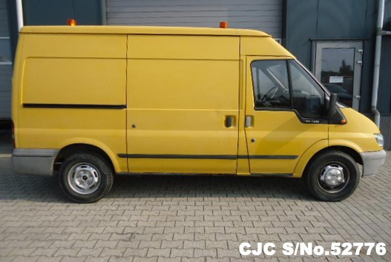 2004 left hand ford transit yellow for sale stock no 52776 left hand used cars exporter. Black Bedroom Furniture Sets. Home Design Ideas