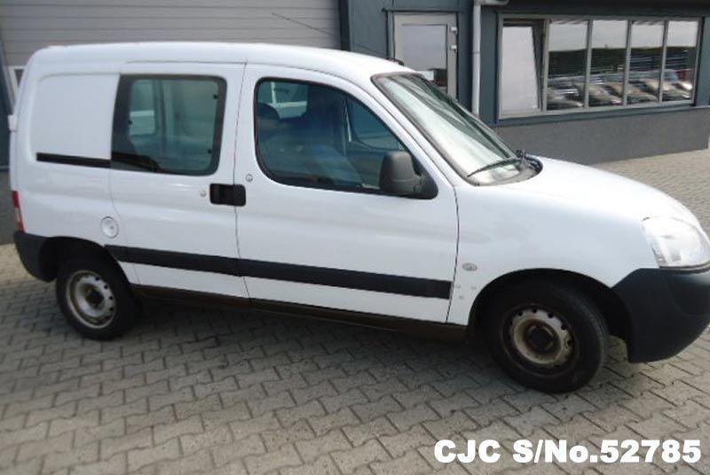 1268e9c954 2008 Left Hand Peugeot Partner White for sale