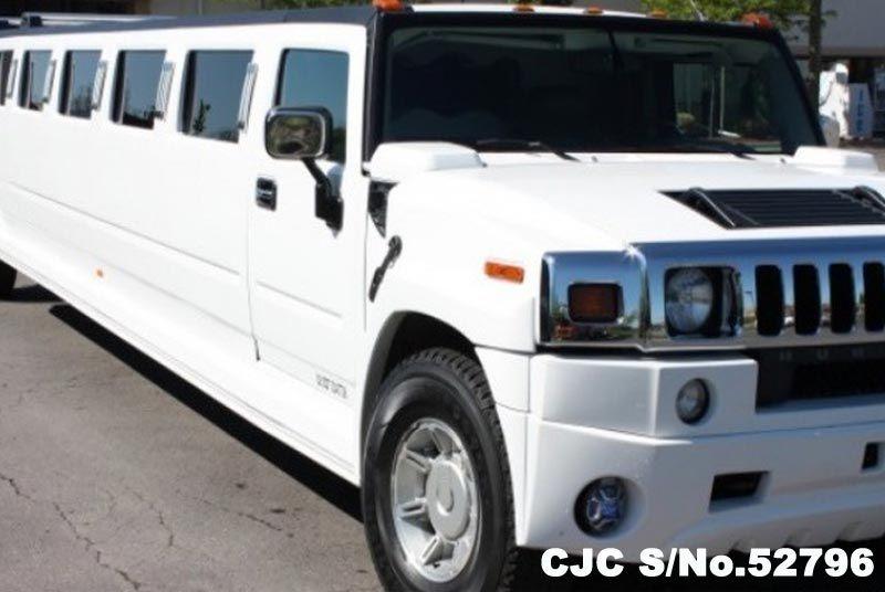 2004 Left Hand Hummer H2 White For Sale Stock No 52796 Left