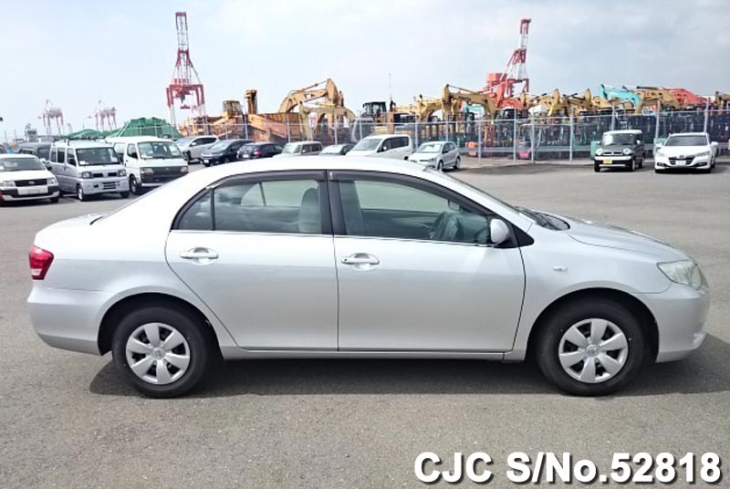 2010 toyota corolla axio silver for sale stock no 52818 japanese used cars exporter. Black Bedroom Furniture Sets. Home Design Ideas