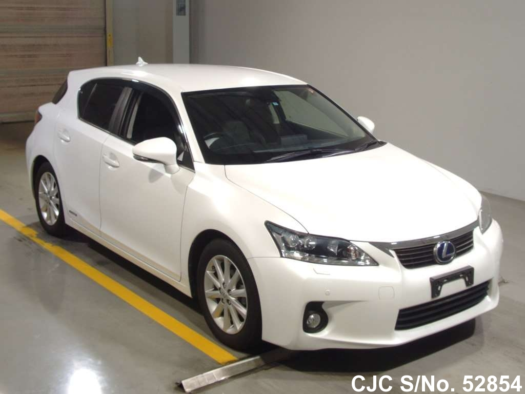 2011 lexus ct200h white for sale stock no 52854 japanese used cars exporter. Black Bedroom Furniture Sets. Home Design Ideas
