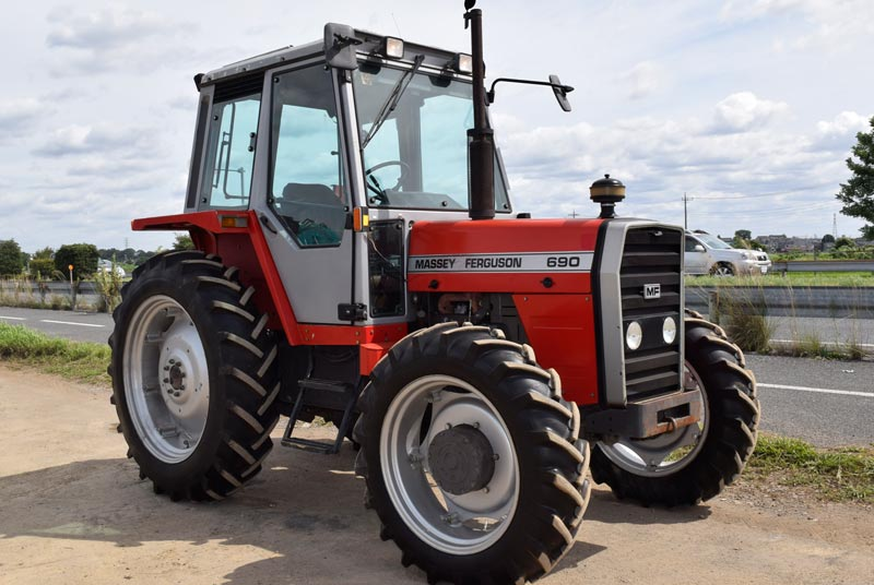 Used Massey Ferguson MF-690 Tractors for sale | CJC- 52892 ...