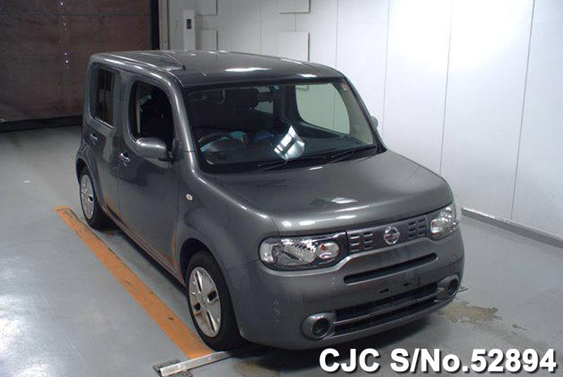 2012 nissan cube gray for sale stock no 52894 japanese used cars exporter. Black Bedroom Furniture Sets. Home Design Ideas