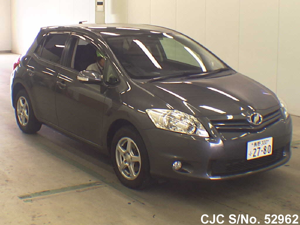 2010 toyota auris gray for sale stock no 52962. Black Bedroom Furniture Sets. Home Design Ideas