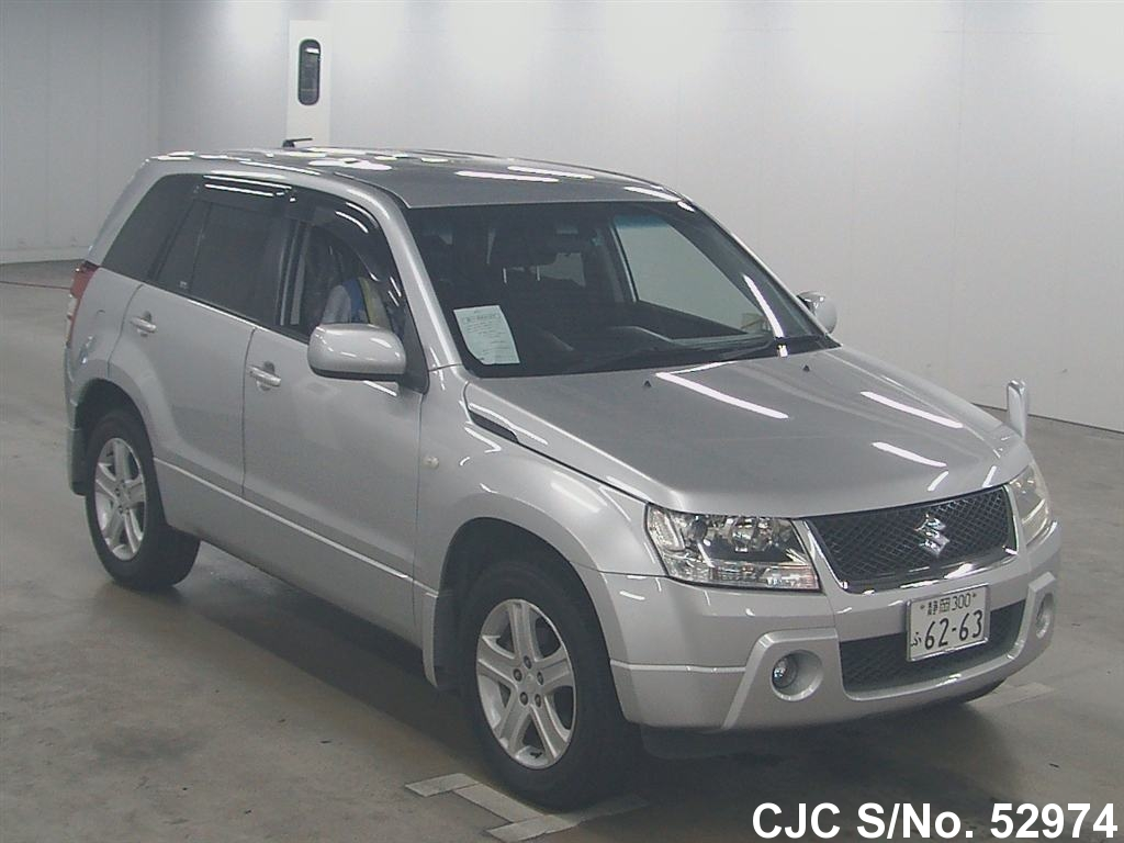 2006 suzuki escudo grand vitara silver for sale stock no. Black Bedroom Furniture Sets. Home Design Ideas