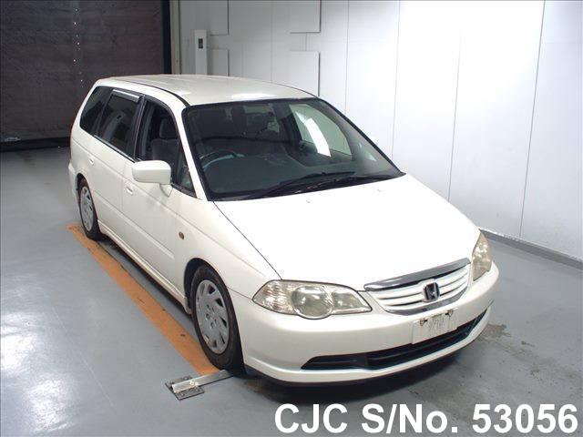 2001 honda white for sale stock no 53056 japanese used cars exporter. Black Bedroom Furniture Sets. Home Design Ideas