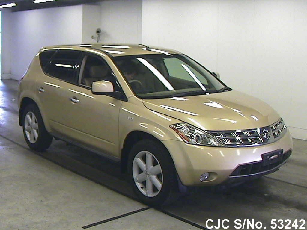 2005 nissan murano gold for sale stock no 53242. Black Bedroom Furniture Sets. Home Design Ideas